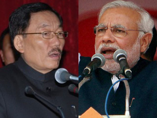Sikkim CM Pawan Chamling 'thanks' Modi