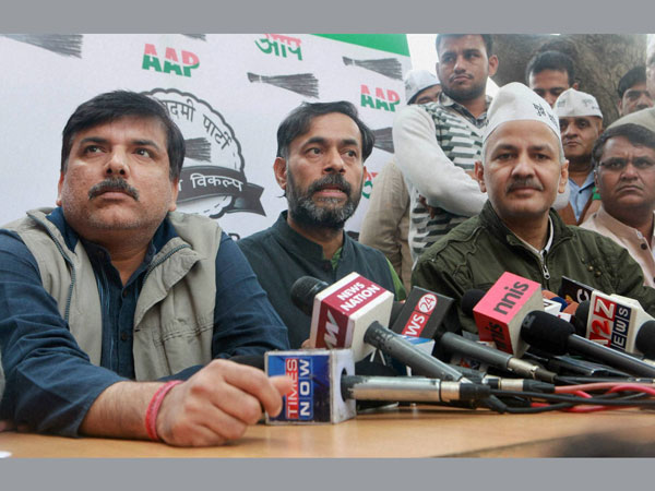 AAP leaders meet on party's next move