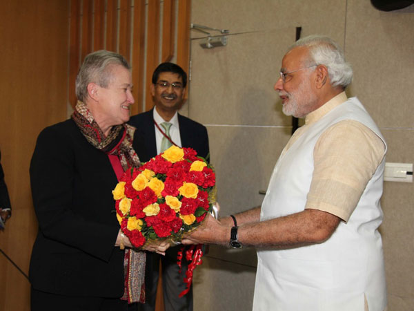 Modi-Nancy Meet