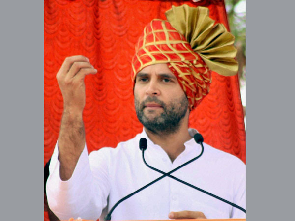 Rahul Gandhi slams BJP at Belgaum