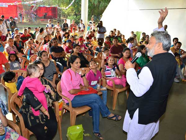 Interaction with children and parents