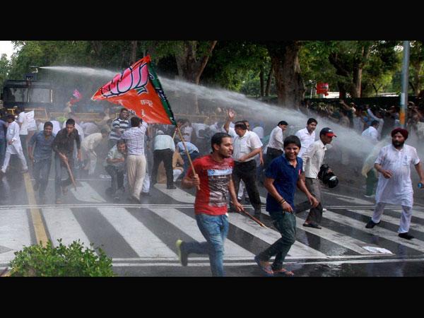Delhi BJP to hold demo against AAP