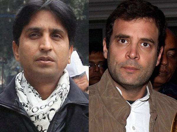 Kumar Vishwas hits out at Rahul