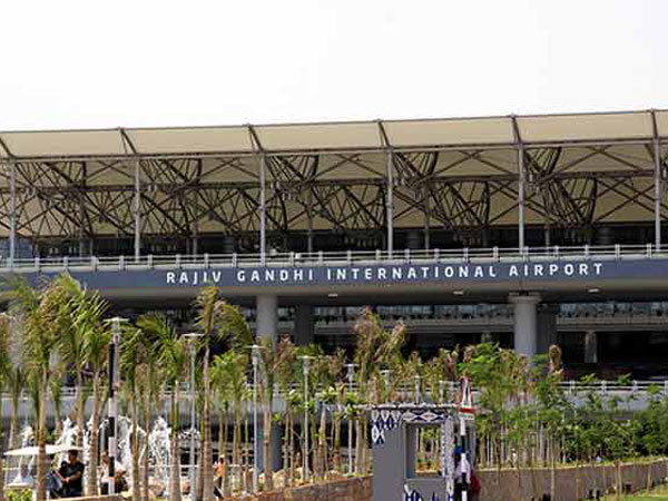 Hyd airport on high alert after threat
