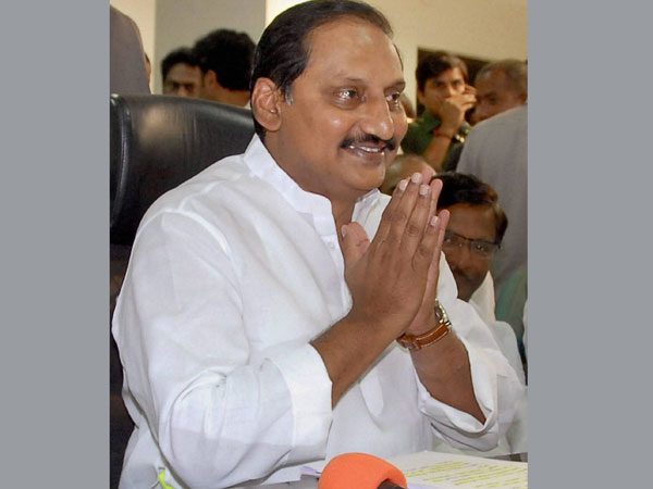 Kiran Reddy's resignation accepted