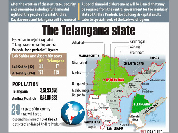 Telangana is born: What foreign media said