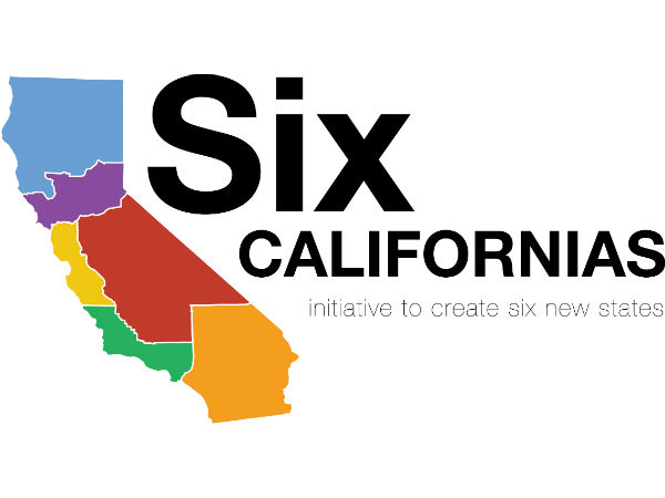 California to be divided into 6