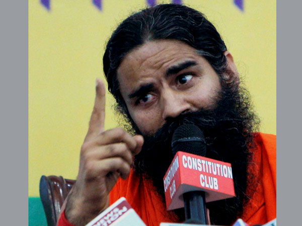 Ramdev makes a veiled attack on Congress