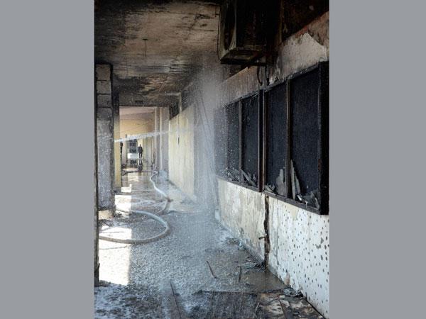 Major fire breaks out at IIT Delhi