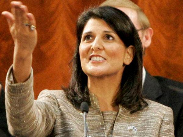 Nikki Haley slams Obama admin