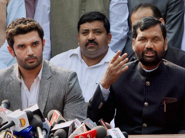 BJP leaders meet Paswan