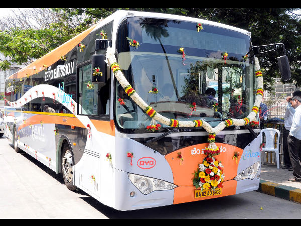India's first Electric bus in Bangalore