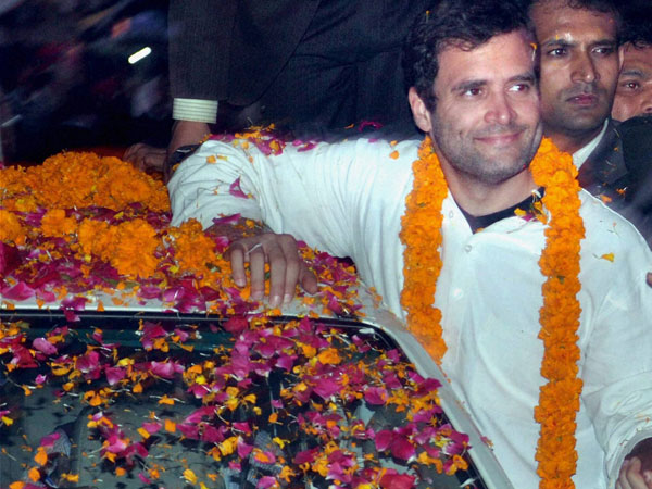 Rahul Gandhi to arrive in UP