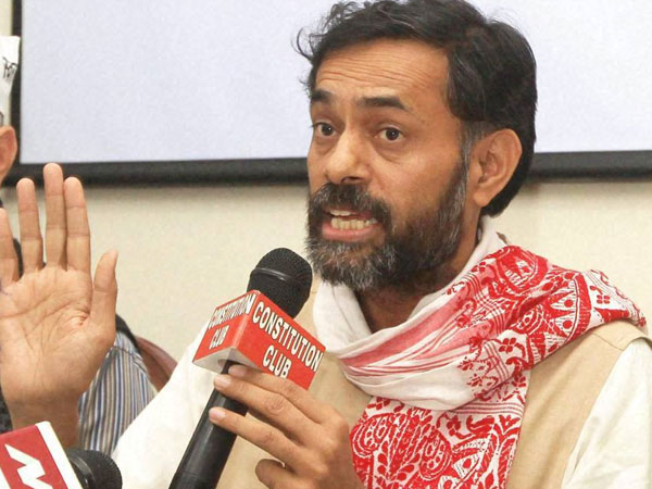 Yogendra Yadav confident of AAP's win