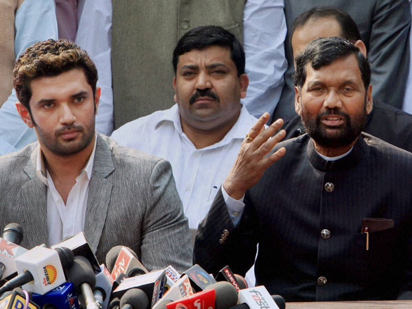 Green signal on Ram Vilas Paswan-led LJP joining hands with NDA