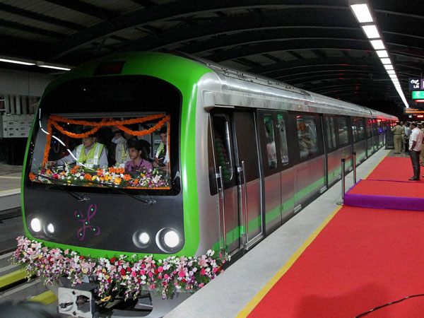 Metro phase ready in Bangalore