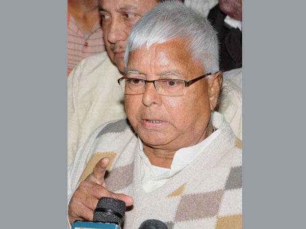 Lalu urges parties to unite against Modi