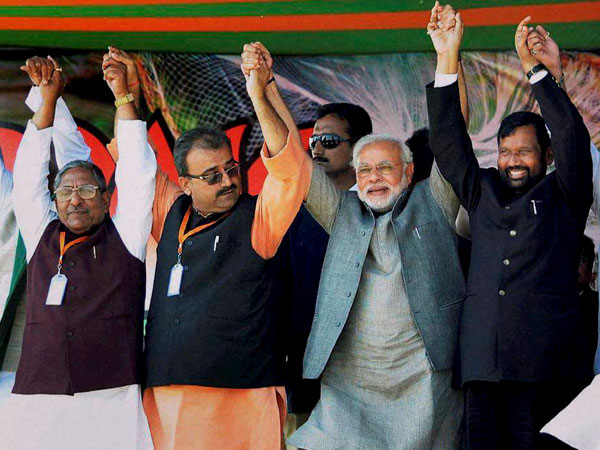 Some BJP leaders skip Modi rally
