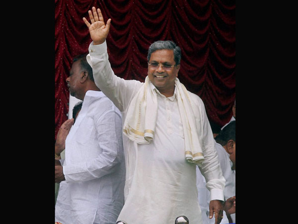 Siddaramaiah faces protests
