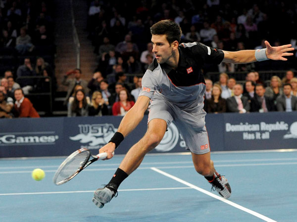Djokovic wins against Andy Murray