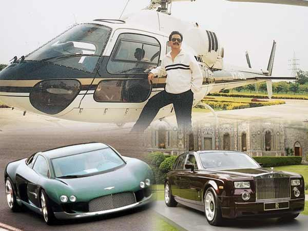 Owns fleet of expensive  and fancy cars