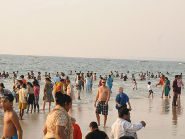 Russian tourists top arrivals in Goa