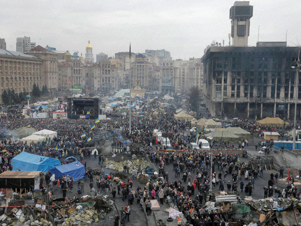 Avoid travelling to Ukraine: Embassy