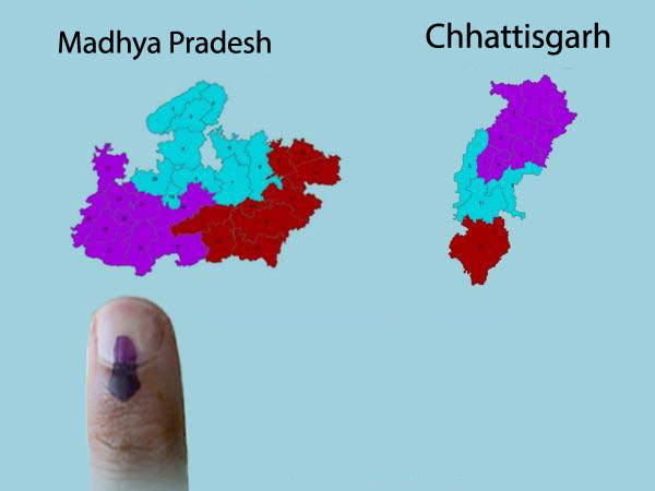 Chhatisgarh, MP LS poll schedule