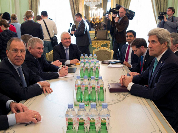 John Kerry meets Russian Foreign Minister
