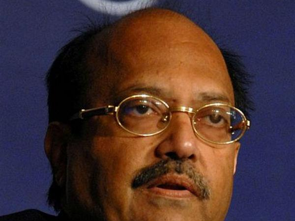 Will Amar Singh contest on Cong ticket?