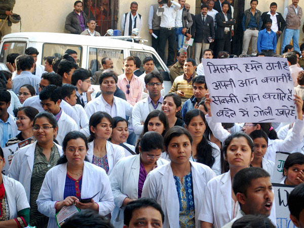 Doctor strike