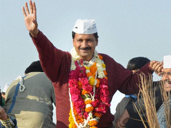 Congress supports Kejriwal