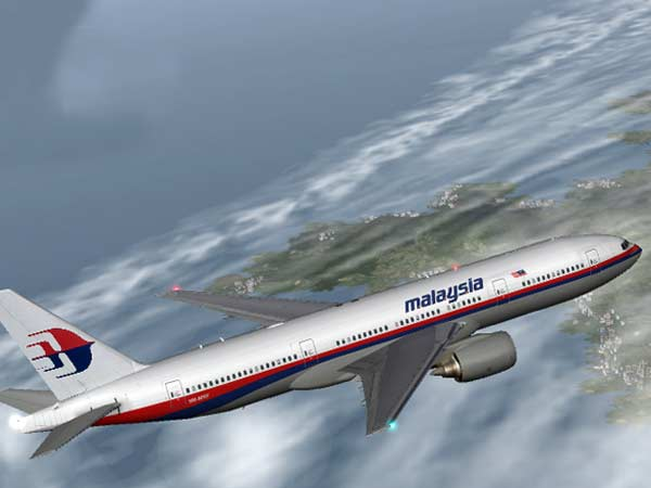 Did the missing Malaysian airline turn?