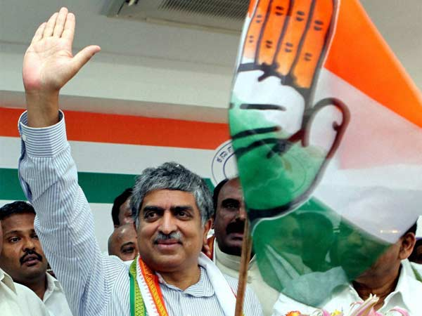 UIDAI man Nandan Nilekani joins Congress
