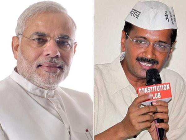 Modi and Kejriwal
