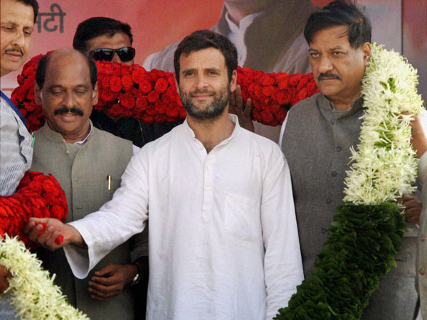 Cong runs govt for poor: Rahul Gandhi in Rajasthan