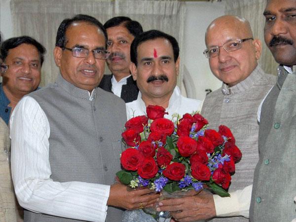 Cong nominee Bhagirath Prasad joins BJP