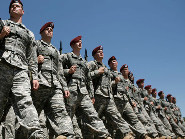 US moves to block transgender military recruits signing up. File photo