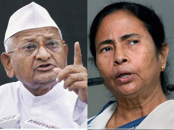 Going national: Mamata's Delhi rally today, Hazare to attend