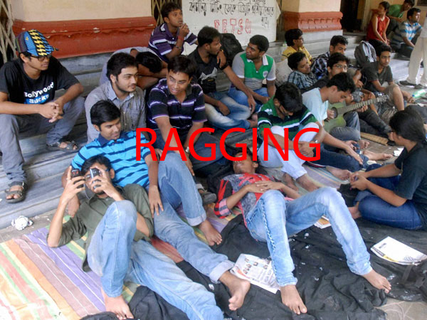 ragging abuse and senior students » ragging in delhi: seniors abuse fresher in hostel (physical science) and was called by the two senior students to their room and was reportedly abused there.