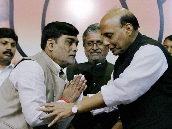 Ram Kripal Yadav joins BJP