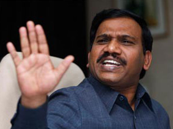 A Raja hits out at Manmohan Singh
