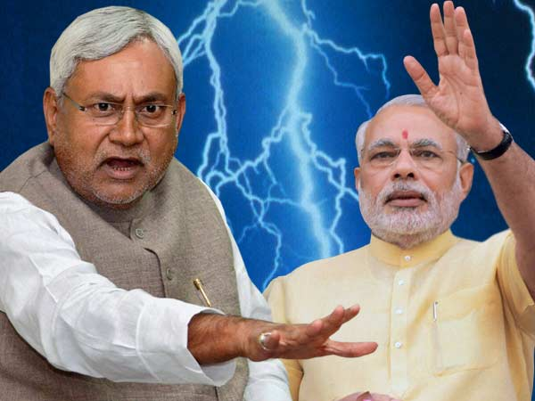 Nitish hits back at Modi, Calls him arrogant