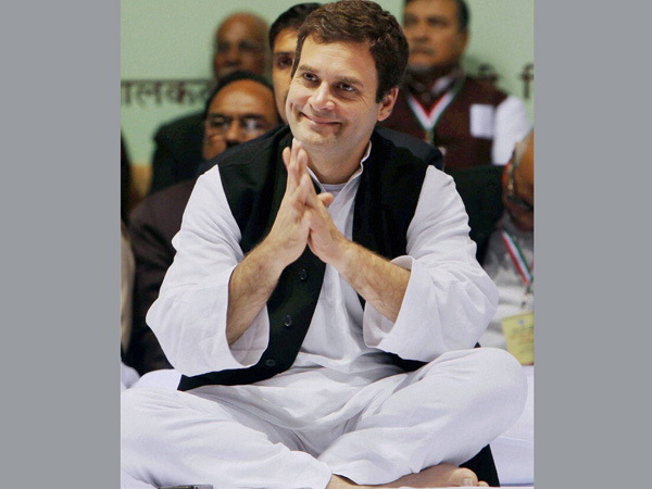Rahul Gandhi spreads the message of love
