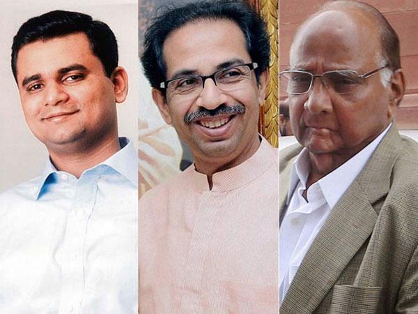 Navrekar, Thackeray and Pawar