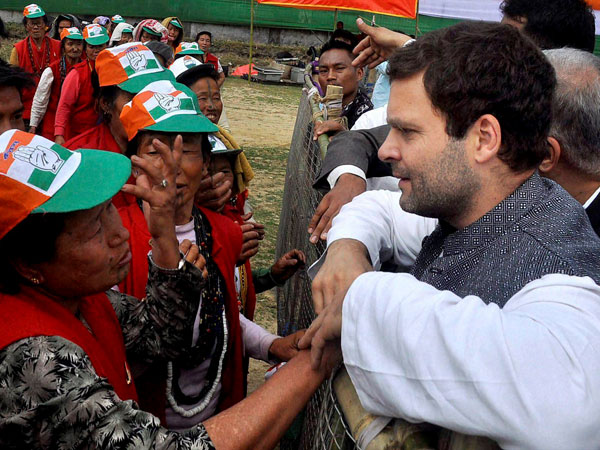 Rahul praises the people of Arunachal