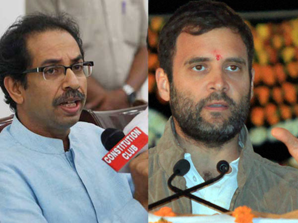Shiv Sena takes a dig at Congress