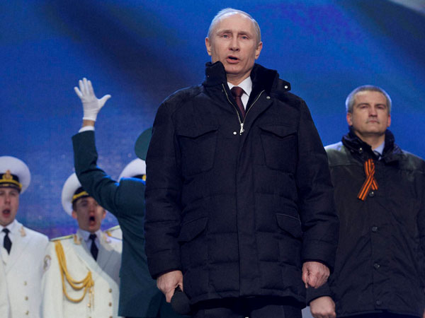 Putin recognises Crimea as independent