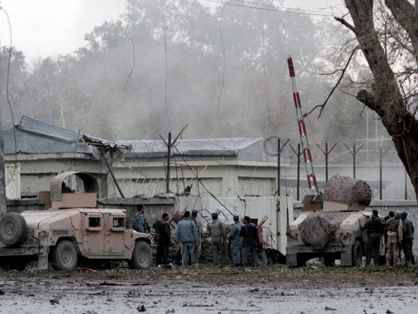 Attack on police station in Afghanistan