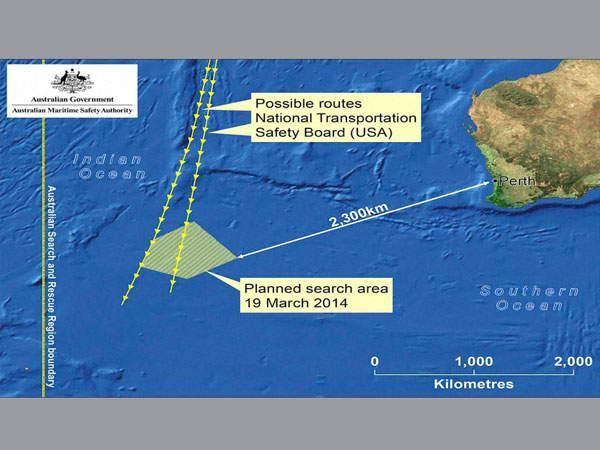 Search for MH-370 continues